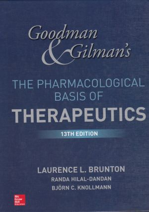Goodman and Gilman' s The Pharmacological Basis of Therapeutic FARMACOLOGIA | Libreriascientifica.com
