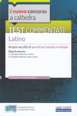 Test commentati Latino CONCORSO A CATTEDRA | Libreriascientifica.com