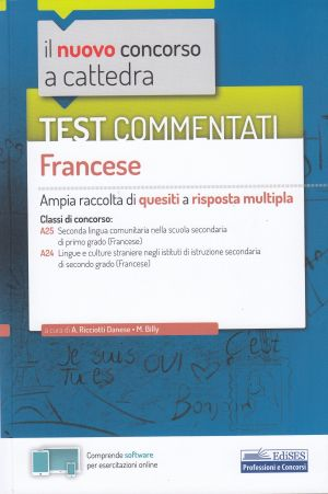 Test commentati Francese CONCORSO A CATTEDRA | Libreriascientifica.com