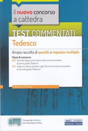 Test commentati Tedesco CONCORSO A CATTEDRA | Libreriascientifica.com